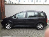 VOLKSWAGEN TOURAN-7 SEATER-WITH TOW BAR-REDUCED PRICE