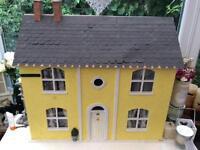Large furnished dolls house