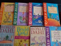 Collection of roald dahl books