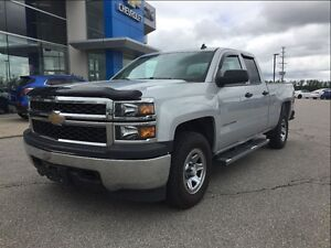 2014 Chevrolet Silverado 1500 DOUBLE CAB - 4X4 - ONE OWNER