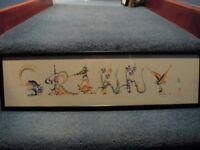 Granny Calligraphy Scroll ~ Gran / Grandmother
