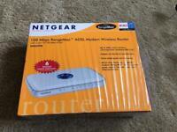Netgear 108 Mbps RangeMax ADSL Modem Wireless Router