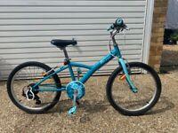 Decathlon Btwin 20 inch bike (6-9 years old)