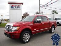 2012 Ford F150 Platinum EcoBoost-Max Tow Package-5.5ft box