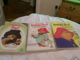 Paddington bear dvds