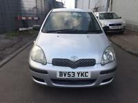 Toyota yaris 5 doors,next MOT due Dec, one owner,full aircoitioning,dirver and passengers air bags,