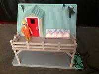 Fireman Sam Playset and Toys Bundle (Station, Venus, Boat house, Neptune, Mountain Lodge, Figures)