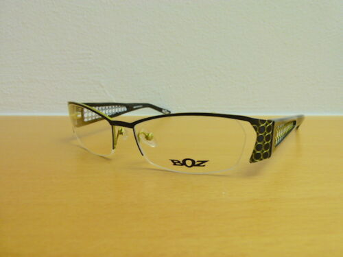 Originale, teilrandlose Designerbrille BOZ by JF Rey Mod. OUTSHINE 0042