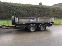 Iver Williams 10ft tipping trailer
