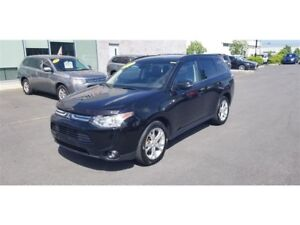 2014 Mitsubishi Outlander GT V6 AWD 7 PASSAGERS CUIR+TOIT+MAGS