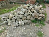 Natural Stone walling ..large quantity FREE
