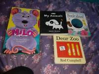 Bag of baby books