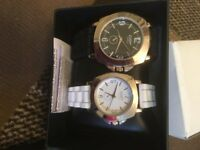 boxed set of 2 watches