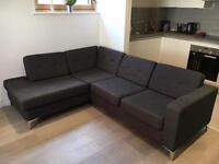 L shaped sofa from Habitat