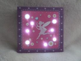 Fairy light up canvas (brand new 3 available)