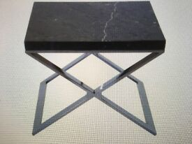 Selina Onyx Lamp Table