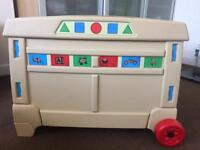 Step2 large toy box with wheels