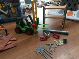 Playmobil fork lift truck
