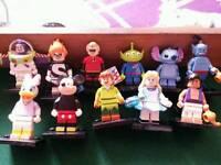 Official LEGO DISNEY FIGURES x11