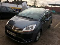 2007 CITROEN C4 GRAND PICASSO 1.6 HDI AUTOMATIC DIESEL 61 000 MILES 1 OWNER