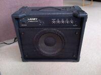 Laney 30-watt bass amplifier (Laney Linebacker 30 Bass amp)