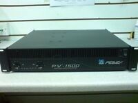 Peavey PV1500 1000w Power Amp in Excellent Condition. Ideal PA amplifier. Low Use