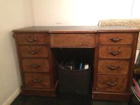 Antique wooden work desk (make me an offer)