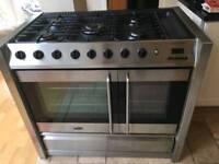 Belling gas range cooker
