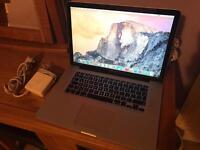 """Apple MacBook Pro 15"""" 2008"""