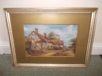 Painting of cottage good condition