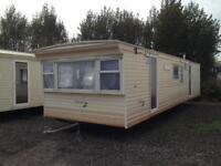 static caravan 35x10 3 bed of site sale