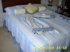 Complete bed set for a 5 foot devan bed ,Prestine condition