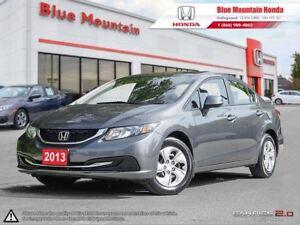 2013 Honda Civic LX Sedan w LOW KMS (A5)