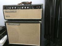 Selmer Mk111 Treble&Bass 50 watt amplifier & cabinet.
