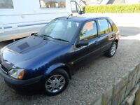 2001 ford fiesta with 50269 miles full service history in good condition mot tell dec 2017 600 ono