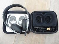 BOSE HEADPHONES, NEW pads, foldable design, earphones, in original case
