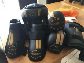 Taekwondo sparring kit