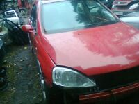 2003 VAUXHALL CORSA 1.6 SRI WINDSCREEN FOR SALE MORE PARTS AVAILABLE