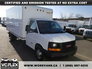 2013 GMC Savana 3500 16Ft Unicell Box 6.6L Duramax Diesel