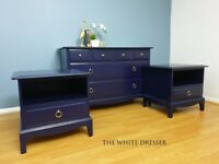 Stag Minstrel chest of drawers set – Stag Minstrel bedroom furniture – Stag drawers