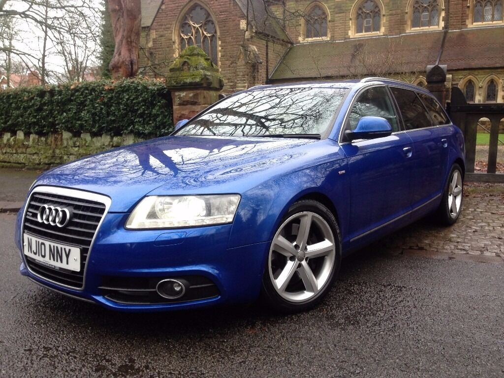2010 rare audi a6 3 0t fsi avant s line tfsi quattro sepang blue exclusive pack same engine as. Black Bedroom Furniture Sets. Home Design Ideas