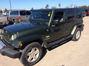 2008 Jeep Wrangler Unlimited- Sahara-CERTIFIED-EASY APPROVALS-