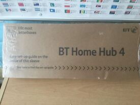 BRAND NEW, STILL BOXED WITH SHRINK WRAP STILL INTACT. BT HOME HUB 4