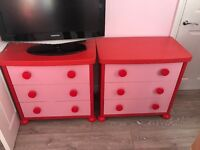 Kids drawers & matching bed