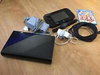 Black Nintendo Wii U 32GB with Captain Toad Treasure Tracker