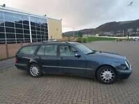 Mercedes Benz E220 2002 reg