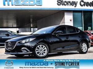 2014 Mazda MAZDA3 GS AUTO,HEATED,NEW RR BRAKES,ACC FREE,1 OWNER!
