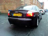 2001 AUDI A4 SPORT 1.8T LOW MILES FSH MOT JUNE TWO KEYS V5 NICE CAR ONLY £495 ono swapz