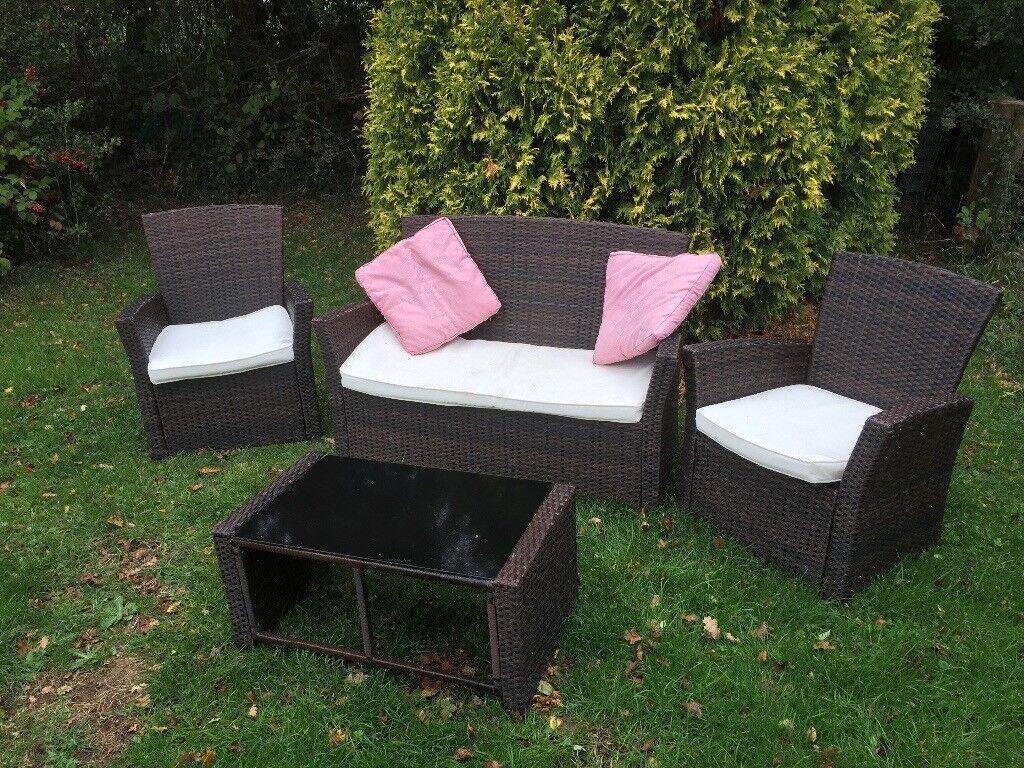 Garden ratten furniture