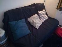 Navy Blue Ikea Sofa Bed Kingsize